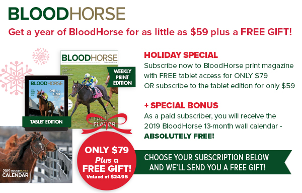 The Blood-Horse Magazine Subscriptions
